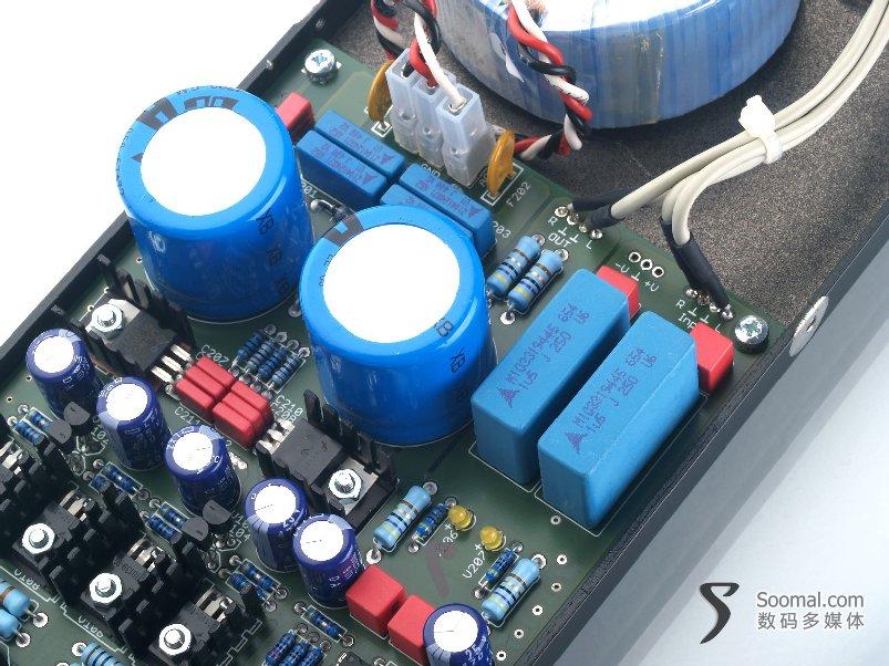 莱曼耳机放大器 Lehmannaudio Black Cube Linear 拆解图片